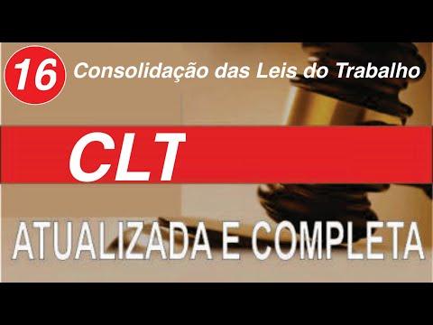 clt---consolidação-das-leis-trabalho---art-324-a-344