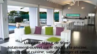 Vidéo : Location Villa de prestige La Coulée Bleue Guadeloupe