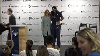 Sylvia Fowles Defencive Player Of The Year Press Conference September 26