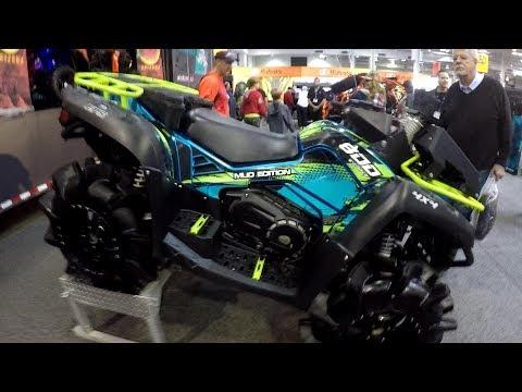 CF Moto 800 Mud Machine ATV, 2018 Toronto International Powersports Show