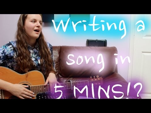 How to Write a Worship Song in 5 Minutes or Less