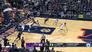 Auburn Men's Basketball vs LSU Highlights