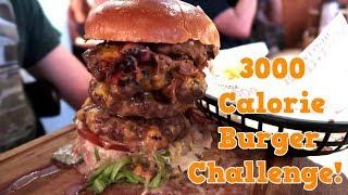 3000 CALORIE DEVASTATOR BURGER CHALLENGE | Epic Cheat Day! - Yum It