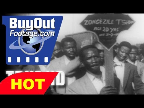 Apartheid in South Africa Laws, History Documentary Film Raw Footage 1957