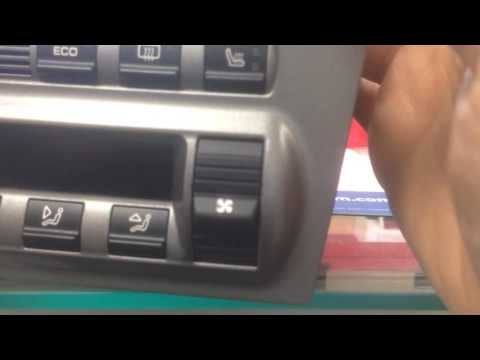 Porsche 997 AC controls repair process before and after