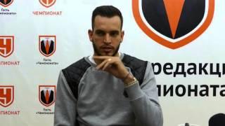 Вратарь сборной России Гилерме - про борщ, блины и пельмени | Эксклюзив | Чемпионат