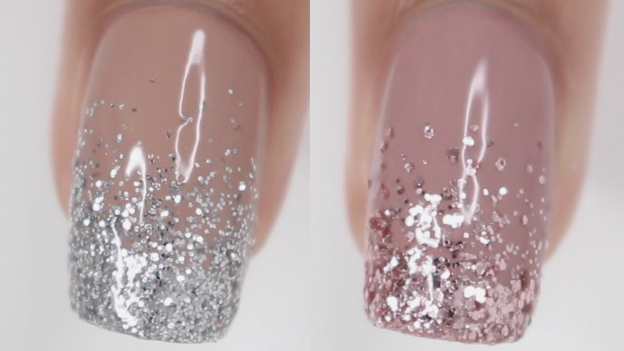Dos Don Ts Glitter Gradient Nails How To Do Glitter Gradient