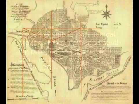 A Surveyor Looks at the Washington DC Planning Map: Part 1