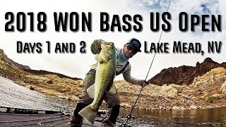 2018 WON Bass US Open - Tournament Day 1 and 2 - Lake Mead