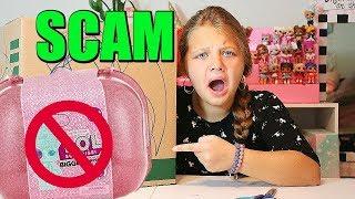 LOL Surprise DOLLS SCAMMER PACKAGE!! I GOT SCAMMED