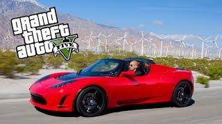 GTA 5 - TESLA ELON MUSK *1.1 saniyede 100km*