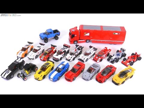 lego speed champions 2015 2016 car collection youtube. Black Bedroom Furniture Sets. Home Design Ideas