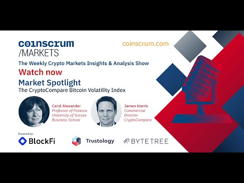 The CryptoCompare Bitcoin Volatility Index – Coinscrum Markets, EP032