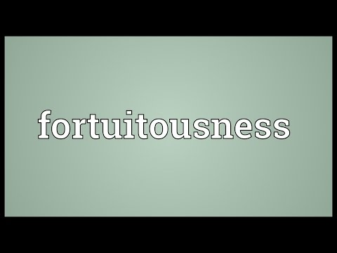 Header of fortuitousness