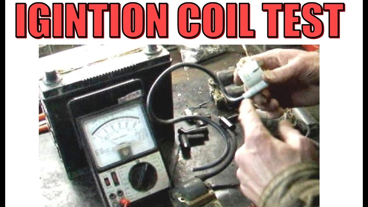 Ignition Coil test with VOM for Motorcycles and Mopeds