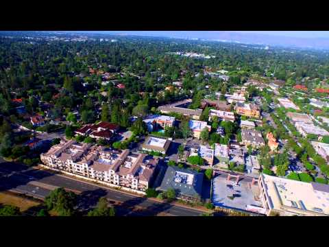 100 First St Los Altos CA by Douglas Thron drone commercial real estate videos San Jose