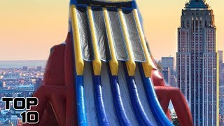 Top 10 Craziest Inflatable Water Slides
