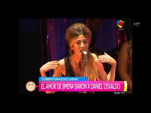 Jimena Barón le declaró su amor en público a Daniel Osvaldo y evitó charlar con la prensa