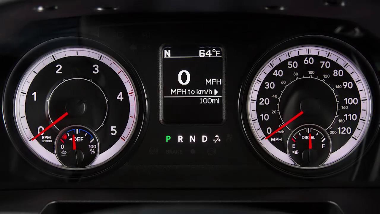 Dodge Ram 2500 Dash Symbols