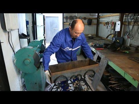 Как украсить мангал