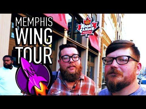 Memphis Wing Tour | Kooky Canuck