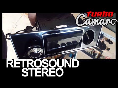 1967 Camaro - RetroSound Model 2 Stereo Install