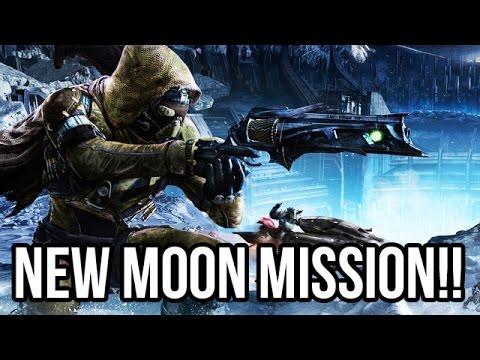 Destiny Gameplay Walkthrough NEW MOON MISSION!! - Part 5 (PS4/XB1 1080p HD)