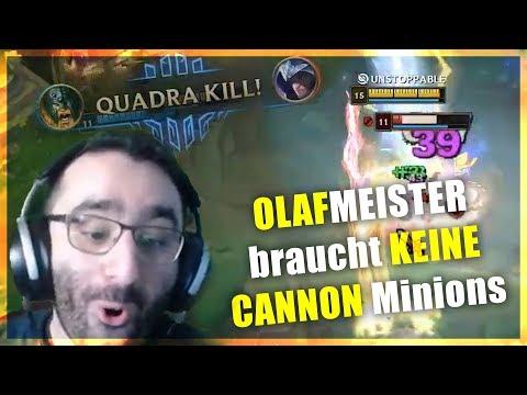 OLAFMEISTER BRAUCHT KEINE CANON MINIONS! Stream Highlights [League of Legends] thumbnail