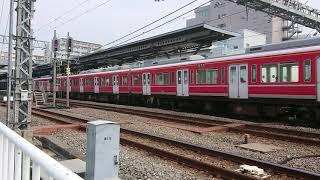 小田急1000形箱根登山色1059F+1254F 急行新宿行き