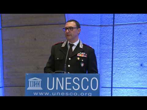 Gianpietro Romano - The expertise of Italian Carabinieri in the protection of UCH