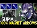 SUMAIL [Mirana] 100% Magnet Arrows Counter Anti Mage Dota 2