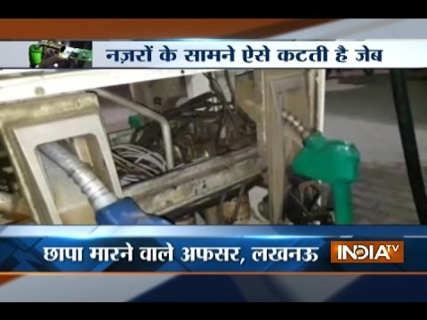 Petrol pumps using chips to 'cheat' consumers of fuel, reveals UP police