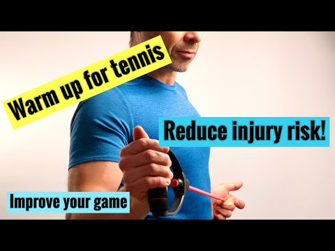 Warm up for tennis reduce injury risk, improve your game