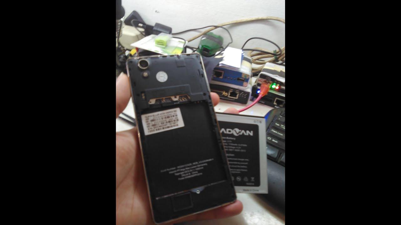 Advan S50C Error 8406 With Flashtool