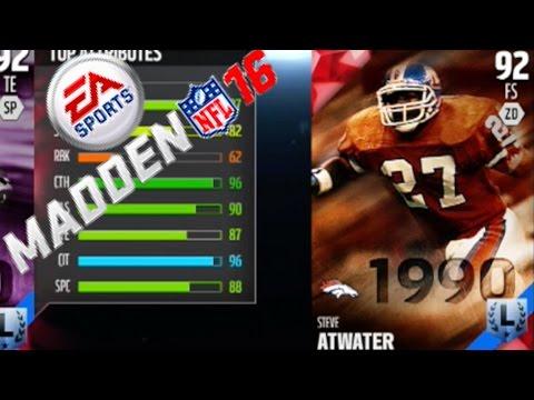 Steve Atwater Returns! FULL DRAFT! Madden 16 Draft Champions Gameplay Ep. 40
