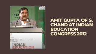Amit Gupta of S  Chand at Indian