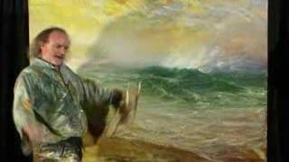 Thrilling mad Fine Art seascape painting