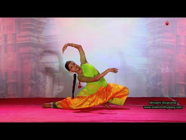 Sivan Sabdam by Mrinalini Sivakumar - Sridevi Nrithyalaya - Bharathanatyam Dance