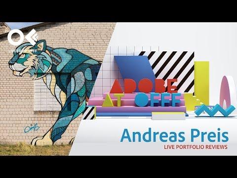 Artist Andreas Preis | OFFF 2017 | Adobe Creative Cloud