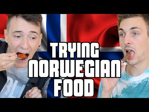 Trying Norwegian Food | Fan Package | WheresMyChallenge
