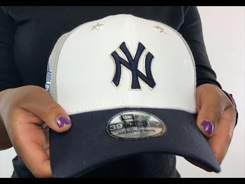 8d9872a5ba498f Yankees '2018 MLB ALL-STAR GAME FLEX' Hat by New Era - YouTube
