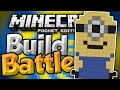 MINIONS!!! - MCPE Build Battles - Build Wars Minigame - Minecraft PE (Pocket Edition)