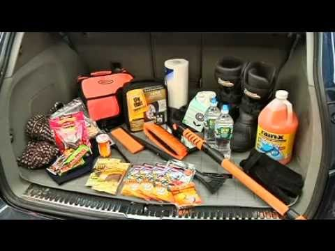 Winter Car Prep and Emergency Kit for Your Car