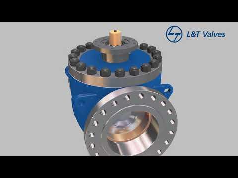L&T Valves, API 6D Trunnion-mounted Ball Valve - Top Entry