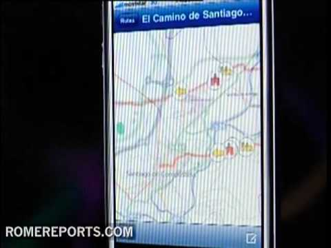 Nueva guía del Camino de Santiago para Iphone, Ipad y Windows Mobile