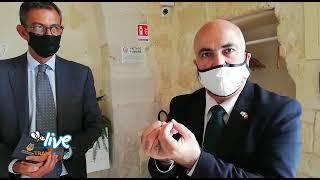 L'ambasciatore d'Israele in visita a Trani