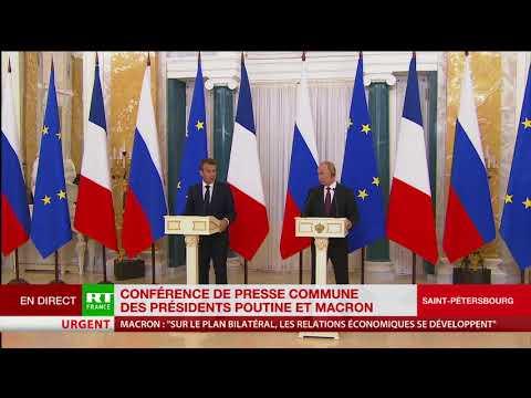 Macron : «La politique française n'est pas de procéder de l'extérieur à un changement de régime»