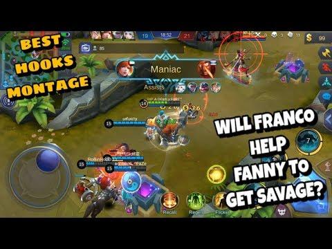 EPIC FRANCO HOOKS MONTAGE EP. 80 | Mobile Legends