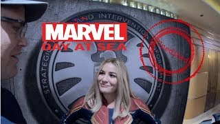 Marvel Day At Sea ~ Disney Cruise ~ Unedited/Uncut Character Meet and Greets ~ Disney Magic 2019