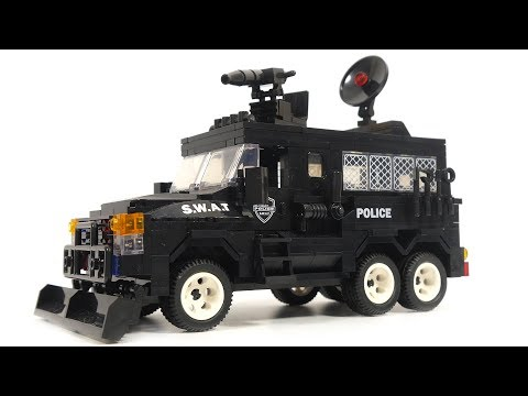 Woma Swat Corps C0534 swat truck and helicopter